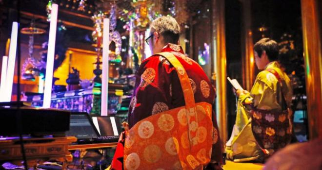 超スーパー極楽浄土!新スタイルの「テクノ法要」が快慶・定慶展とコラボし東京国立博物館で開催