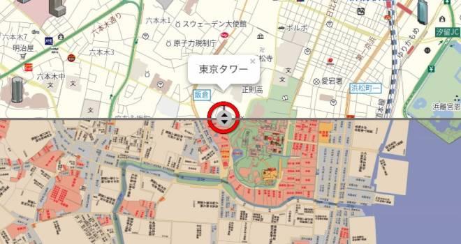 ひとりブラタモリ状態!現在と昭和・江戸時代の古地図を同時表示できる「古地図 with MapFan」面白すぎ!