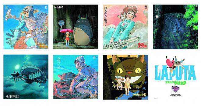 ジャケ買いだコレ!11月3日「レコードの日」記念でナウシカ、ラピュタ、トトロのアナログレコード復刻販売
