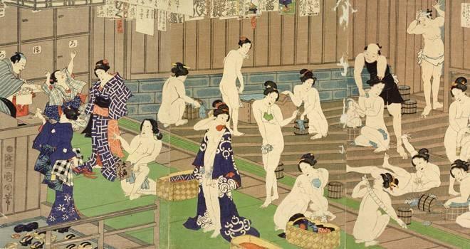 江戸時代の湯屋のほとんどは混浴だった。みんな意外と抵抗なかったってホントなの?