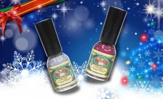 素敵ネーミング♡ 日本画の顔料を使った胡粉ネイルにクリスマス限定「御灯明」「淡雪」登場!
