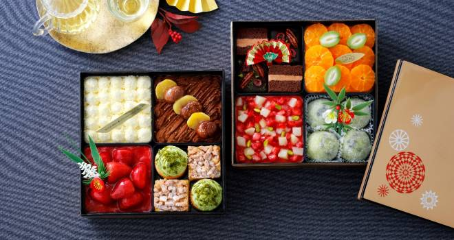 スイートなお正月を♪彩りがとても美しい「スイーツおせち」が洋菓子のルタオから登場!