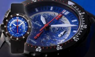 80本限定!漫画家・松本零士による美しい地球が描かれた腕時計が登場!