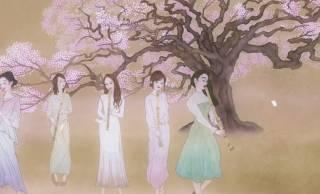 日本画家とコラボ!女性尺八奏者5名「Bamboo Flute Orchestra」のデジタル絵巻なMVが美しい!