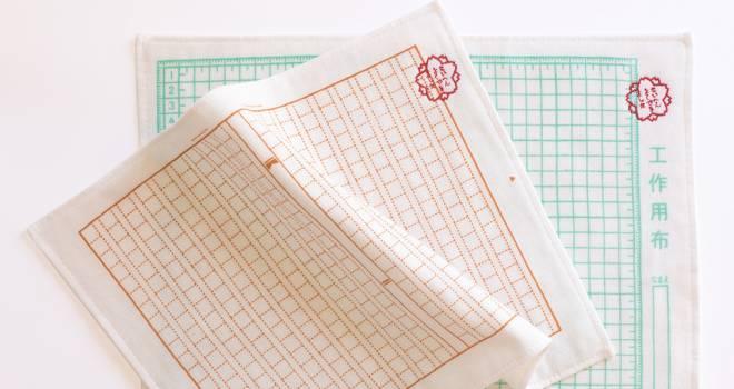 「原稿用紙なタオル」空白を埋めるのに苦労してた懐かしの原稿用紙がタオルになりました!