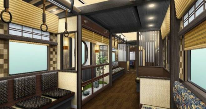 和風ここに極まれり!阪急電鉄、京都色が満載の観光特急「京とれいん 雅洛」を発表!
