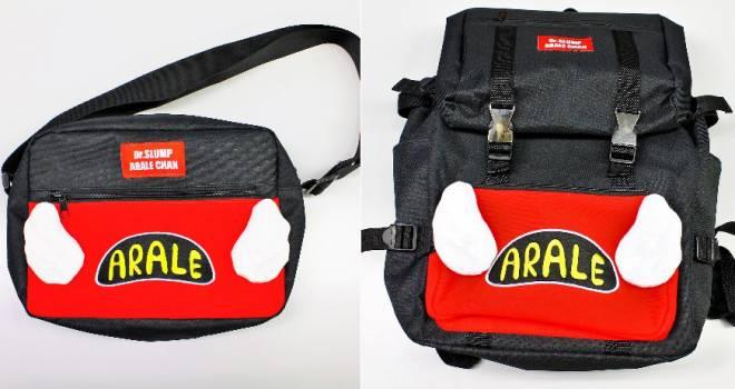 懐かしいし可愛いし♪【Dr.スランプ】アラレちゃんの帽子をイメージしたバッグが登場!