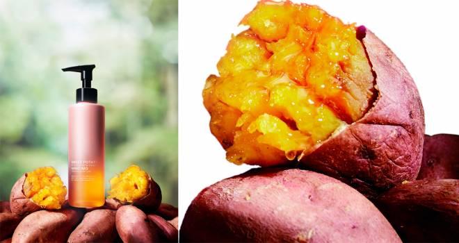 斬新すぎるゾ!熊本県産の「安納芋」を使った高保湿効果のクレンジング洗顔が誕生