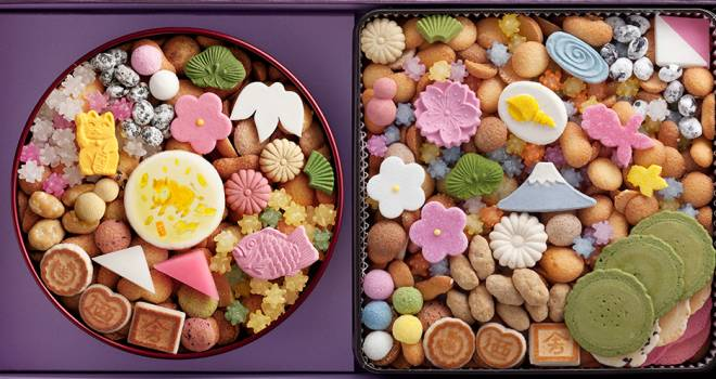 福が溢れてる♪宝箱のような和菓子の詰め合わせ「冨貴寄」の開運干支缶がステキ!