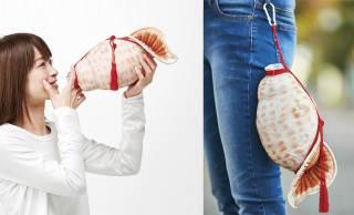 山伏かよwww ほら貝を吹いてる風にして水分補給「ほら貝ペットボトルケース」発売!