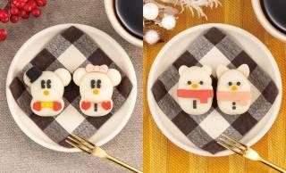可愛い雪だるま姿のミッキーやミニーが和菓子になった「食べマス Disney WinterHoliday」発売
