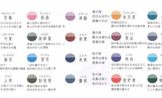 手軽に万年筆インク♪日本の四季をイメージした万年筆用インクが水性マーカーになった「SHIKIORIマーカー」