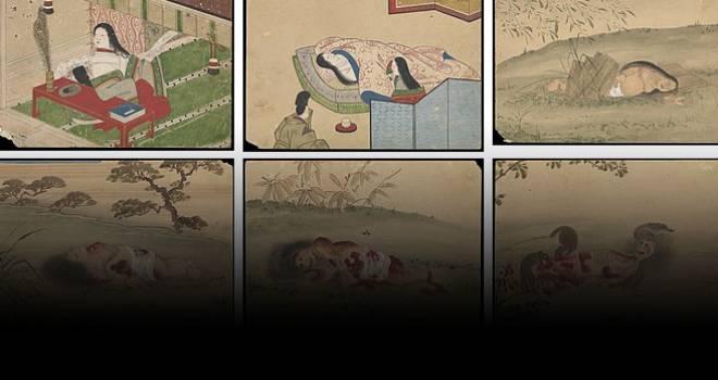 小野小町も死んだらドクロ。彼女の遺体が腐乱していく姿を描いた衝撃的な「九相図」の意味とは?