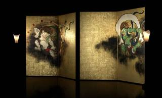 VRで尾形光琳の「風神雷神図屛風」を体験する斬新なアート鑑賞のカタチ「風神雷神図のウラ」上演!