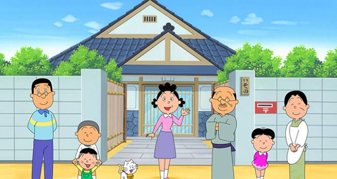 夢の企画です!アニメ「サザエさん」の世界に実名で登場しサザエさん一家と共演できる家族の募集がスタート!