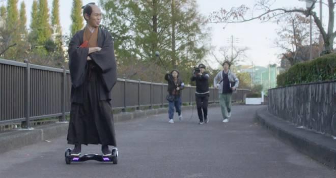 江戸時代からやってきた謎すぎる「タイムスリップ侍」を追ったドキュメントタッチの謎すぎる動画
