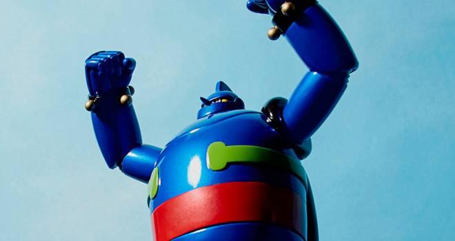 レトロなロボ感たっぷり♡海洋堂から鉄人28号のソフビフィギュアが発売されるゾ!