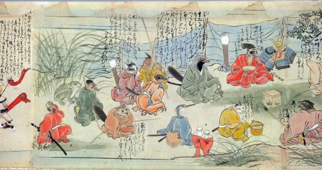 映画化希望!十二支とそれに属さない動物たちとの闘争を描いた室町時代のハードボイルド絵巻「十二類絵巻」
