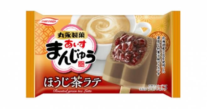 ついに人気の和風アイスにほうじ茶がやってきた!「あいすまんじゅう ほうじ茶ラテ」発売!