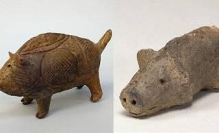 可愛すぎるよ♡2019年の干支・猪を表現した縄文〜弥生時代のキャワワな動物土偶たち!