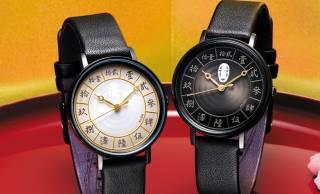 カオナシが暗闇で光る!「千と千尋の神隠し」の世界をイメージした腕時計が発売