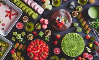 この映え!60種のスイーツ食べ放題、旬ないちごと抹茶のスイーツブッフェが開催!