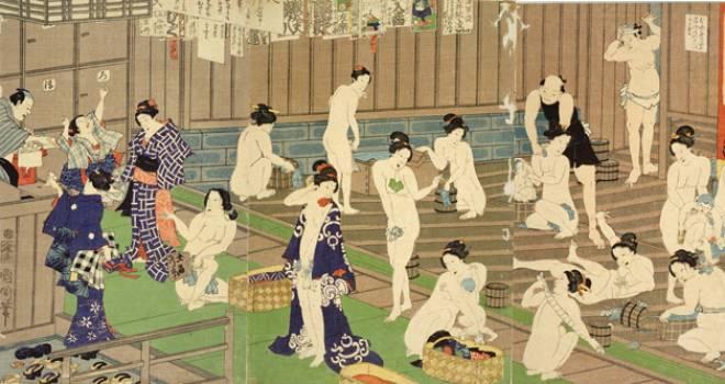 美男子の三助は女性客にモテモテ?江戸時代の湯屋で客の背中を流す「三助」という仕事