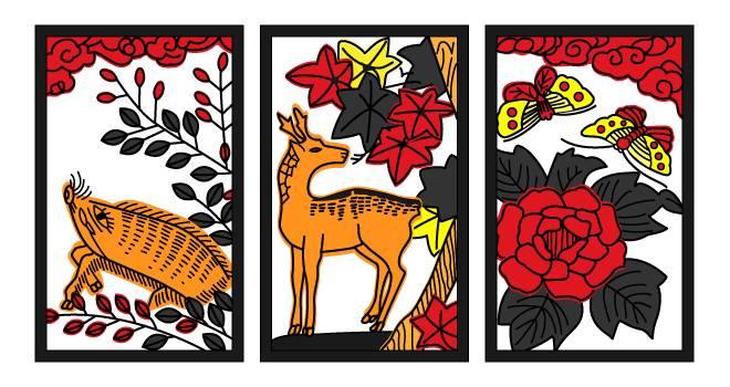 シカト、ピカイチ…意外に多い?「花札」から生まれた日本語たちを紹介