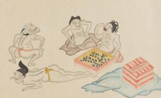 おならで妖怪を退治!ユーモラスな江戸時代の妖怪絵巻「神農絵巻」