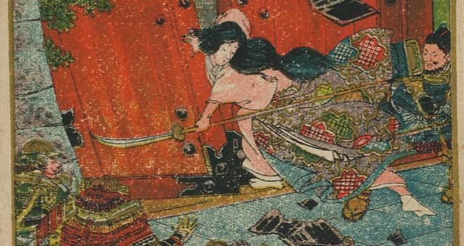梶原景時の仇討ち!鎌倉時代「建仁の乱」で活躍した女武者「坂額御前」の武勇伝(下)