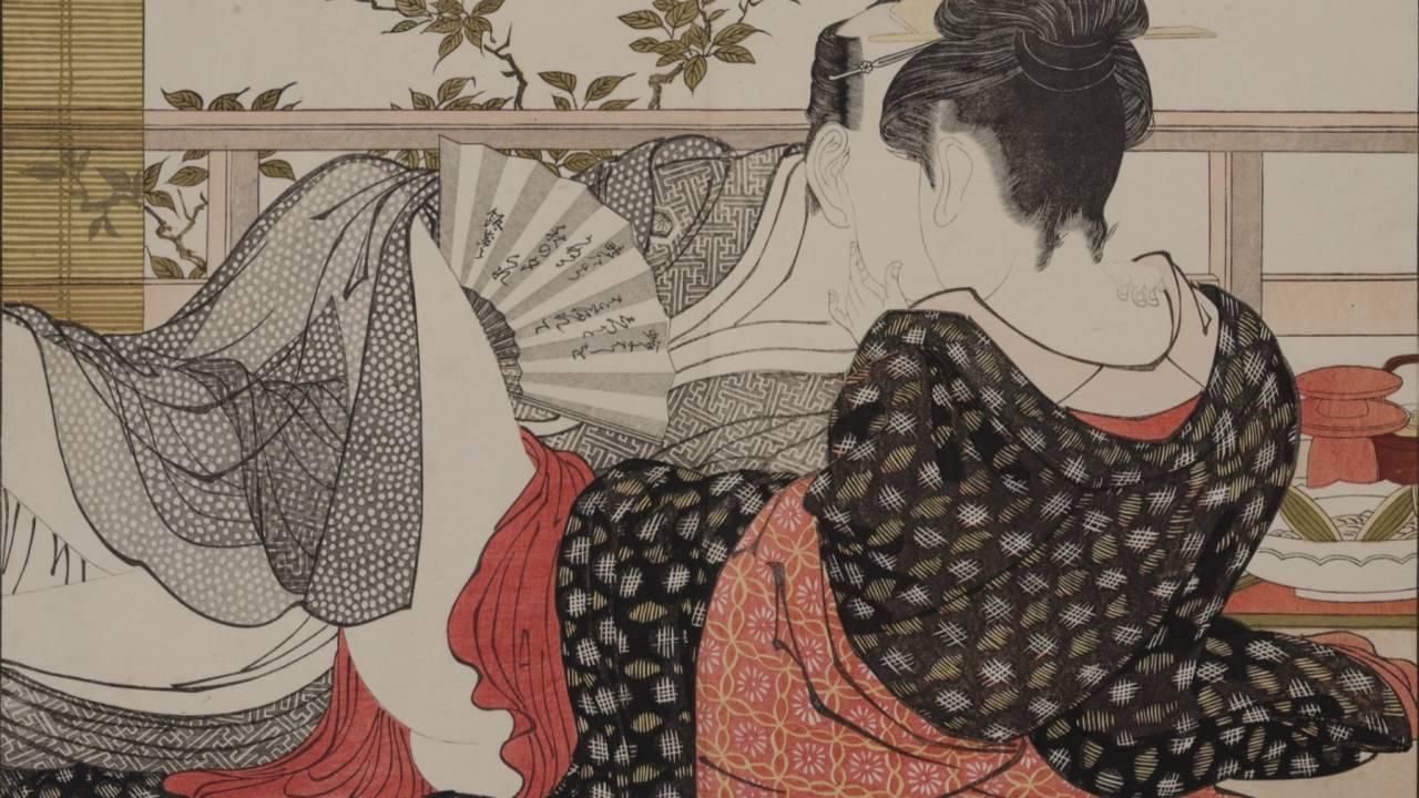入場無料。シャネルがなんと春画と仏アーティストの展覧会「ピエール セルネ&春画」を開催!