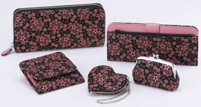 桜満開で美しい!印伝の老舗・印傳屋から「桜こまち」模様シリーズが季節限定で登場!