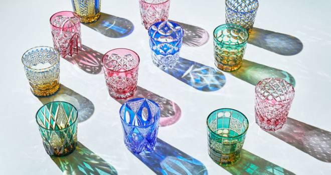 日本の伝統ガラス工芸「江戸切子」の世界を堪能できる「江戸切子新作展 ...