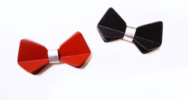 フォーマル&カジュアルOK!和装にもマッチする蝶の形をした漆塗りの髪留めがカワイイ!