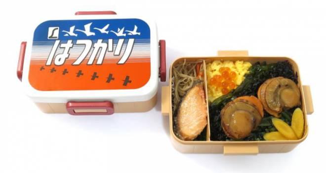 く〜懐かしいっ!特急列車「はつかり」のレトロデザインなヘッドーマーク弁当が新発売