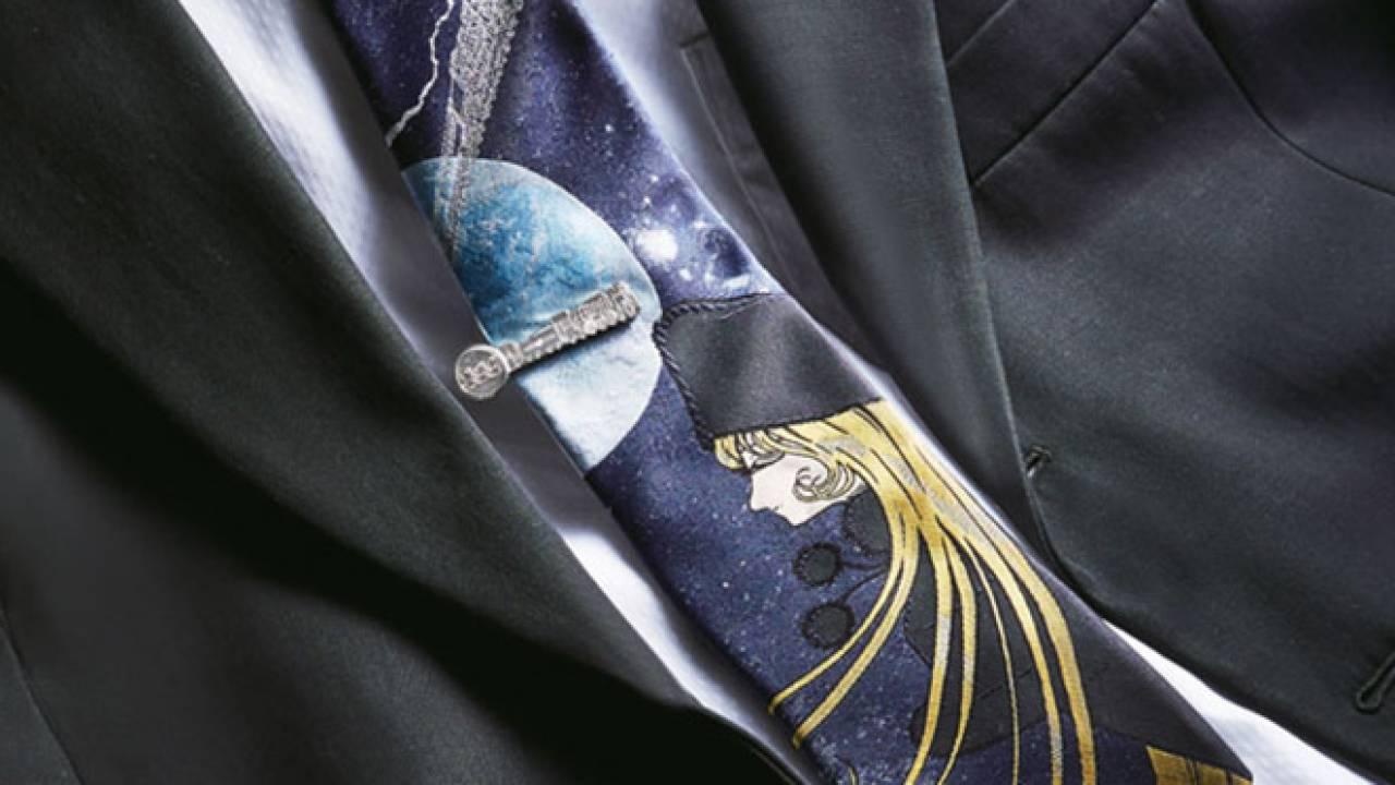 松本零士ファン要チェック!銀河鉄道999の世界を詰め込んだ西陣織ネクタイが登場!