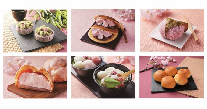 和スイーツもたくさん!ローソンが桜や苺を使った新作スイーツを全13品発表