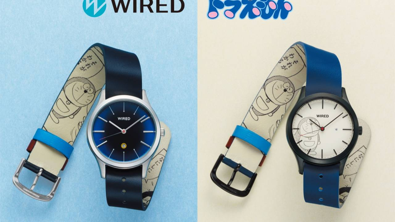 原作の「ドラえもん」初登場シーンを描いた数量限定の腕時計が発売!