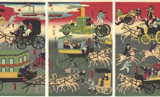 馬車 VS 人力車!明治時代、馬車に客を取られた人力車夫は人糞を投げ入れるなどの嫌がらせ