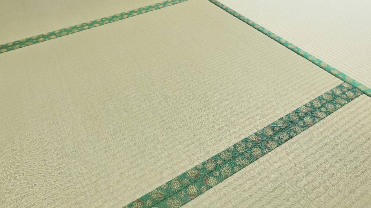 あまり目に留めない「畳の縁」の色柄には、格式や様々な意味があるんです
