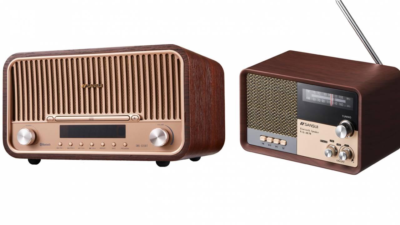70年代のコンポ感あふれるBluetooth対応の多機能オーディオがとっても可愛い!
