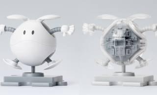 ガンダムの小型ロボット「ハロ」がクリア&ホワイトの可愛いプラモデルになった!