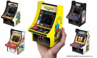 これは懐かしい!1980年代の名作アーケードゲームが手のひらサイズのゲーム機になって登場!