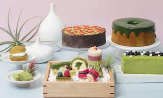 テーマは京都、宇治抹茶やほうじ茶を使ったスイーツブッフェ「Matcha Sweets Buffet #KYOTO」開催!
