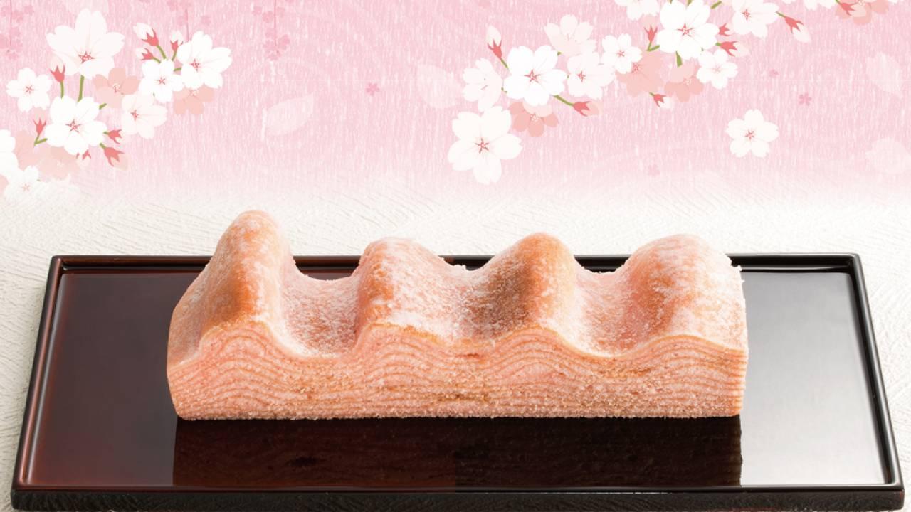 桜舞う山並みのように美しい、桜の葉香る「桜の国のマウントバーム」
