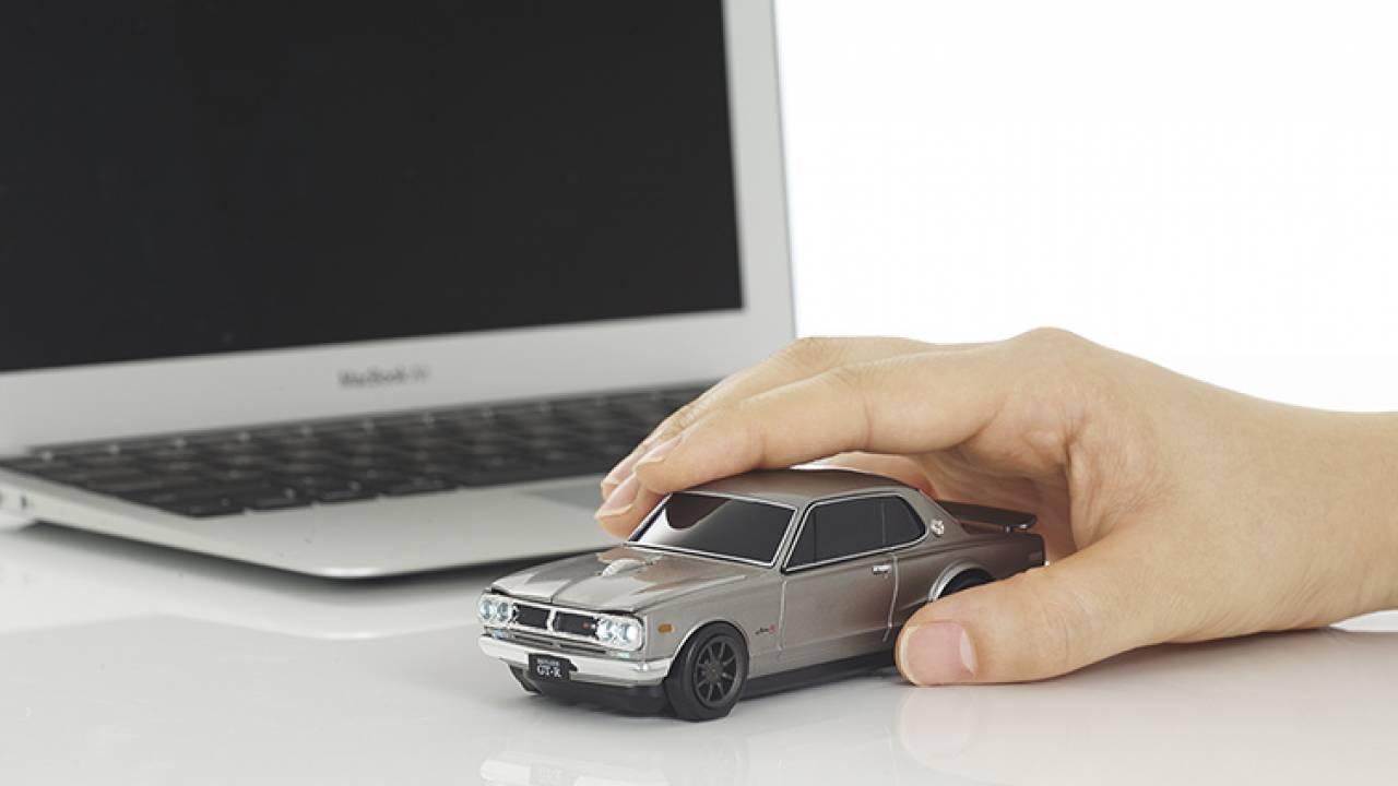 最高じゃないか!名車ハコスカ(スカイライン2000GT-R)がなんとパソコンマウスになって登場!