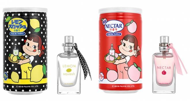 不二家のロングセラー「ネクター」と「レモンスカッシュ」がなんと香水になったよ!