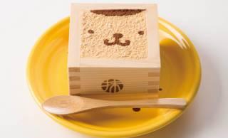 これは可愛いすぎるよ〜♡枡に入ったポムポムプリンの「きなこティラミス」発売!