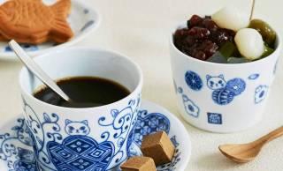 可愛いニャンコが描かれた有田焼のそば猪口&小皿がフェリシモ猫部から新登場!