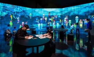 これは体験してみたいぞ!チームラボによる妖怪がテーマの体験型インタラクティブ作品「妖怪遊園地」